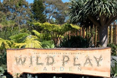 Centennial Parklands Wild Play Garden Launch, 15 September 2017