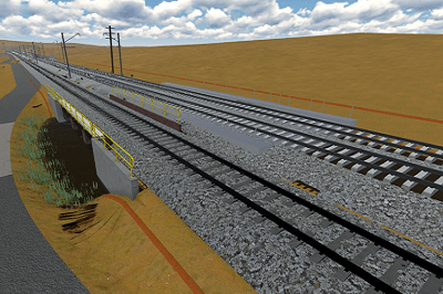 Digital Engineering 3D Railway design